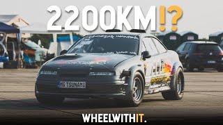 Tsunami - Opel Calibra z 2200KM