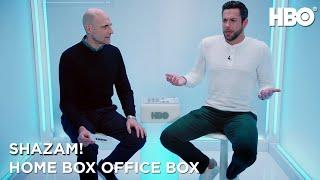 SHAZAM! Stars Zachary Levi, Mark Strong Play Superhero Trivia | HBO