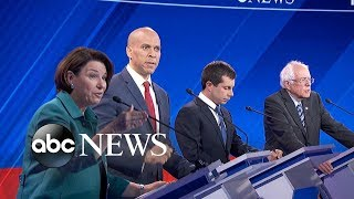 Democratic candidates debate: Dealing with China and tariffs | ABC News