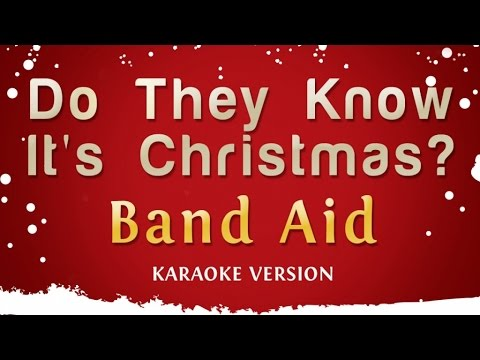 Band Aid - Do They Know It's Christmas? (Karaoke Version)
