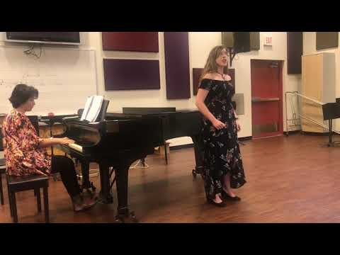"Hailey G. Singing ""Bessie Bobtail"" By Samuel Barber"