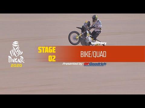 【ダカールラリーハイライト動画】ステージ2 バイク部門のハイライト