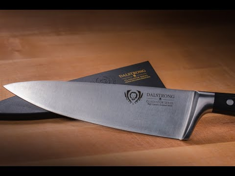 Four Month Reviews: The Dalstrong 8in Gladiator Series Chef Knife