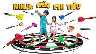 Tony | Thử Thách Ninja Ném Phi Tiêu - Darts Battle