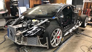 Installing a Triple Radiator Setup in the LS Powered Huracan
