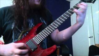 Arch enemy - Dark insanity (new version) Guitar cover by Nikke Kuki