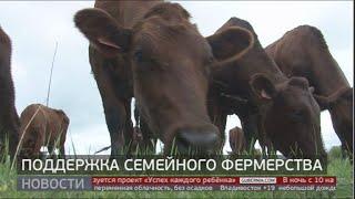 Поддержка семейных ферм. КФХ Арьянкина