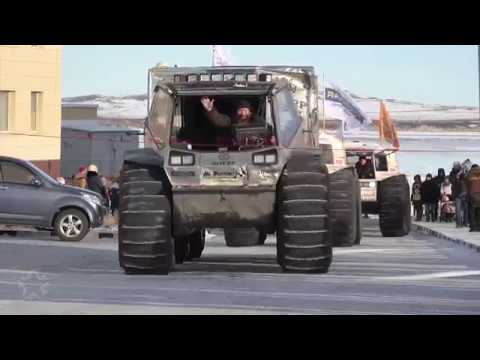Russian Sherp best off-road vehicle in the world
