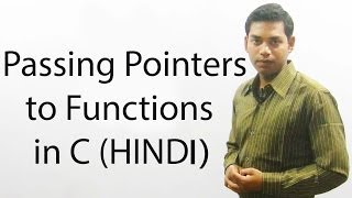 Download Youtube: Passing Pointers to Functions in C (HINDI)
