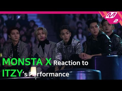 [Reaction Cam] MONSTA X(몬스타엑스) Reaction to ITZY(있지) l 2019MAMA x M2