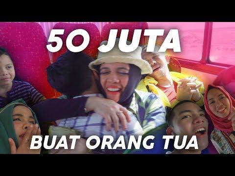 Download Hadiah Rp 50.000.0000 Dikasih Ke OrangTua (Terharu) HD Mp4 3GP Video and MP3