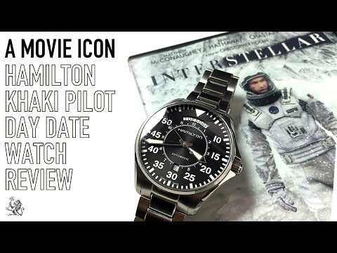The Interstellar Hamilton Khaki Pilot Day Date - The Best Automatic Aviation Watch Under $600?