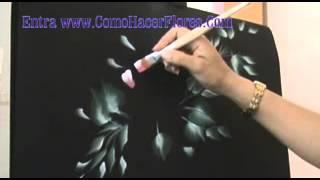 Dibujos para pintar flores  y ramos de flores  CLASE GRATIS
