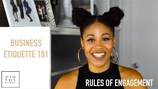How to Practice Proper Business Etiquette: Rules of Business