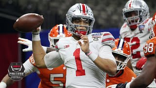 Ohio State's Justin Fields throws 6 TDs in Sugar Bowl [HIGHLIGHTS] | College Football Playoff