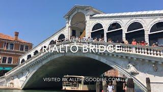 Rialto Bridge, Venice   allthegoodies.com