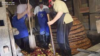 Kučenje jabolk v Sovjaku
