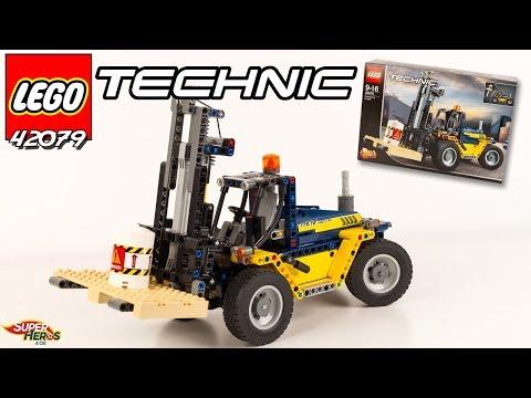 Vidéo LEGO Technic 42079 : Le chariot élévateur