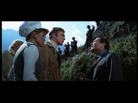 The Italian Job (1969) theatrical trailer - Mini Cooper
