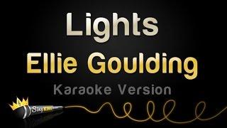 Ellie Goulding   Lights (Karaoke Version)
