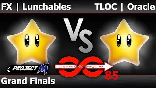 IaB! 85 PM - FX | Lunchables (All Star) vs TLOC | Oracle (All Star) - Grand Finals