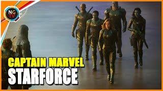 Captain Marvel ¿Quiénes Son Los STARFORCE Del UCM Y Los Comics?