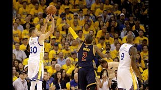 Stephen Curry's Best NBA Finals 3 Pointers!