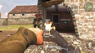 World War Heroes [20 Minutes With STEN submachine gun] GamePlay Android (1080p)