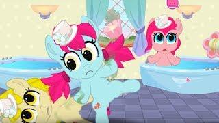 БЕНДИ Атаковал дом пони. Карманная пони. Мультик игра для детей. My little pony. Дружба это чудо