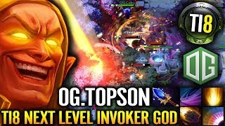 OG.TOPSON INVOKER LAST PICK - OG vs EG [Game 1] - #TI8 The International 2018 DOTA 2