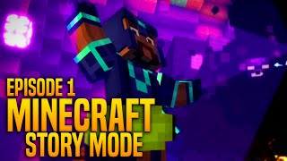 ORDER OF THE STONE (Minecraft Story Mode - FULL Ep.1)