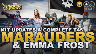 Just How Good Is Emma Frost & The Marauders? Full Breakdown + Complete War T4s W/ Infographic!