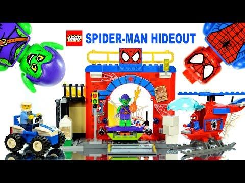 Vidéo LEGO Juniors 10687 : La cachette de Spider-Man