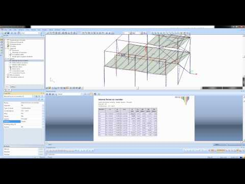 Steel structures in SCIA Engineer