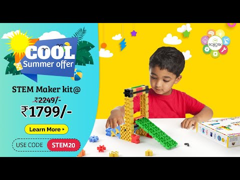 STEM Maker kit for Children ages 4+   What's in the Box?