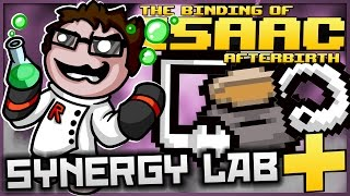 The Binding of Isaac: Afterbirth+ - Synergy Lab: ULTIMATE UNSTABLE DARK MATTER!