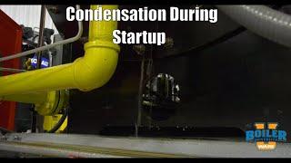 Water Condensation on Boiler Startup