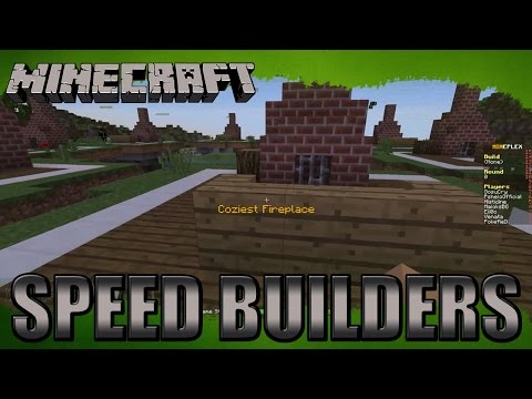 Minecraft minigames - Speed Builders - v3na7a