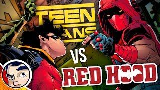 Teen Titans Vs Red Hood | Comicstorian