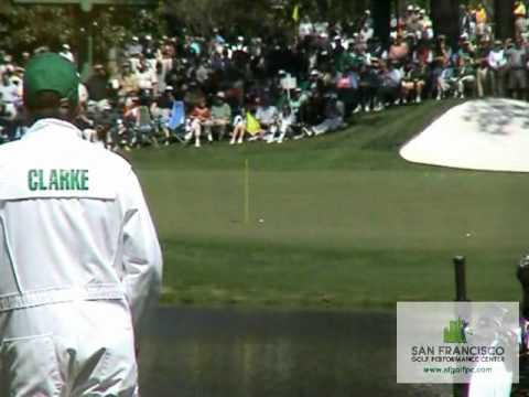 Darren Clarke Hole-In-One Augusta National The Masters 2004 16th Hole Monday Practice