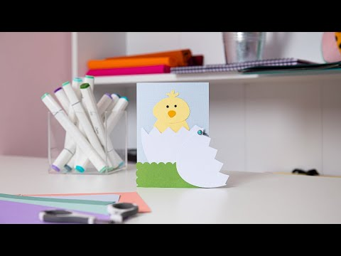 Create Super Cute Easter Cards! - Ellison Education