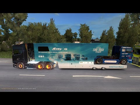 , title : 'Euro Truck Simulator 2 -  Weihnachtsfrachten Part3 🔴 LIVE