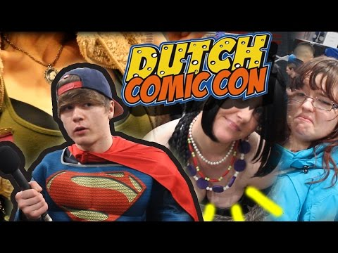 SuperCemal op Dutch Comic Con