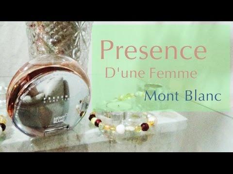 MONT BLANC PRESENCE FEMME EDT 75 ML