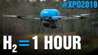 All-Inclusive Hydrogen Fuel Cell Drone: Try It!