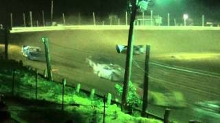 preview picture of video 'Jackson County Speedway (OH) Super Late Model Highlights 7-6-2012'
