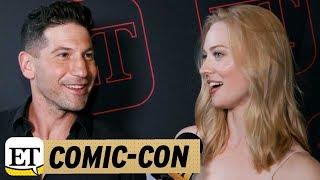 Comic-Con 2017: Punisher Stars Jon Bernthal And Deborah Ann Woll Talk Daredevil Spinoff!