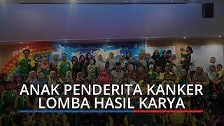 70 Anak Penderita Kanker 'Reuni' di RSUP M Djamil Padang, Ikuti Lomba Hasi Karya