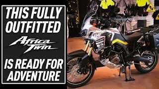 Outfitting the Honda Africa Twin for Adventure | TwistedThrottle.com