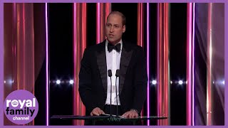 Duke of Cambridge Jokes About 'The Crown' at the BAFTAs